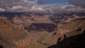 Vue de Grand Canyon de traînée de canyon Images stock