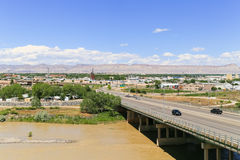 Vue de Grand Junction Photographie stock