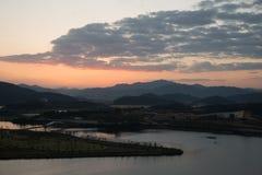 Vue de Hak Observatory Photos libres de droits