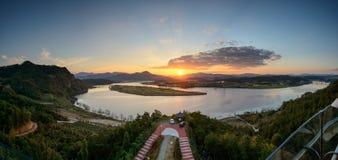 Vue de Hak Observatory Photographie stock libre de droits