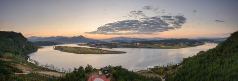 Vue de Hak Observatory Image stock