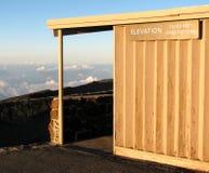 Vue de Haleakala sur Maui Photos libres de droits
