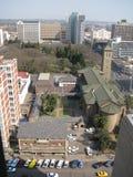 Vue de Harare de deuxième rue photographie stock libre de droits