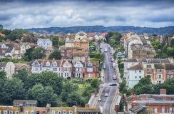 Vue de Hastings, le Sussex est, Angleterre image stock