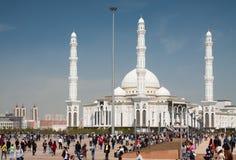 Vue de Hazrat Sultan Mosque Photographie stock