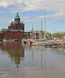 Vue de Helsinki Images libres de droits