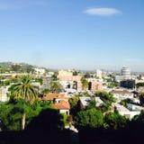 Vue de Hollywood Photographie stock