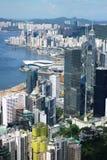 Vue de Hong Kong Photos stock