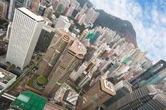 Vue de Hong Kong Image libre de droits