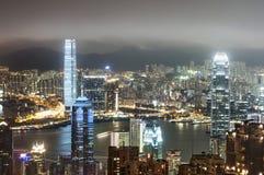 vue de Hong Kong Photographie stock libre de droits