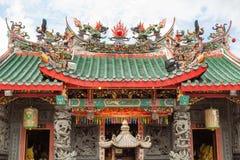 Vue de Hong San Si Chinese Temple photos stock