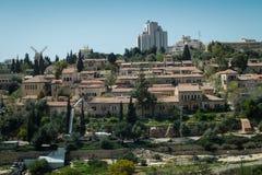 Vue de Jérusalem Image libre de droits