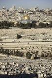 Vue de Jérusalem photographie stock