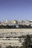 Vue de Jérusalem image stock
