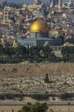 Vue de Jérusalem Images libres de droits