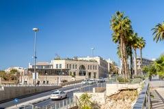 Vue de Jérusalem en Israël Images libres de droits