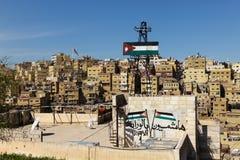 Vue de Jabal Amman, Jordanie Images stock