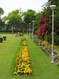 Vue de jardin Photos libres de droits