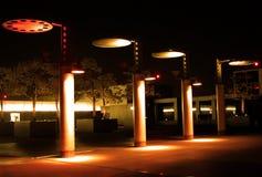 Vue de jardin-nuit de ciel Image libre de droits