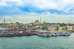 Vue de jour de la mosquée de Suleymaniye Photos libres de droits