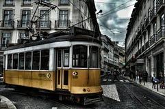 Vue de jour de Lisbonne Images libres de droits