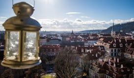Vue 3 de jour de Prague Photos libres de droits