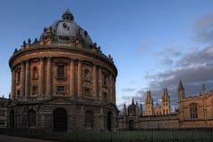 Vue de jour de toute l'université d'âmes à Oxford Images stock