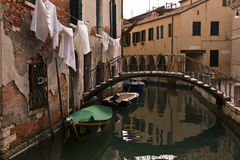 Vue de jour de ville de Venise Images stock
