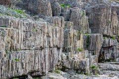 Vue de jour, le canyon étonnant de diable, Bulgarie photos stock
