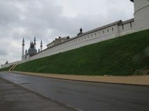 Vue de Kazan Kremlin Kazan, Russie photo stock