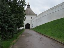 Vue de Kazan Kremlin Kazan, Russie photos libres de droits