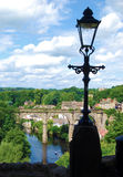 Vue de Knaresborough Photographie stock libre de droits