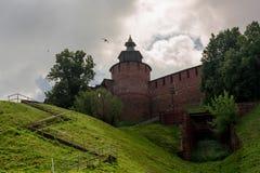 Vue de Kremlin d'en bas Photos libres de droits
