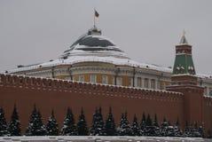 Vue de Kremlin et le centre historique de Moscou Photographie stock