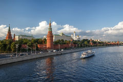 vue de kremlin Moscou Russie Images libres de droits