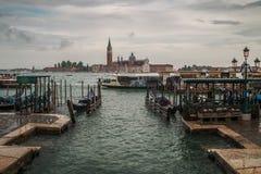 Vue de l'île de Venise Images libres de droits
