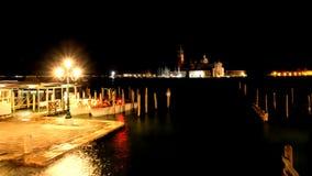 Vue de l'île San Giorgio Maggiori dans la lagune vénitienne de la place San Marco photo libre de droits