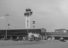 Vue de l'aéroport de Tan Son Nhat dans Saigon, Vietnam Images stock