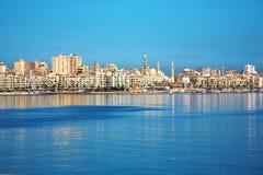 Vue de l'Alexandrie, Egypte Images stock
