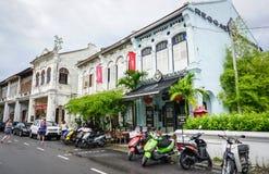 Vue de l'amour Ln chez Chinatown à Penang, Malaisie Images libres de droits