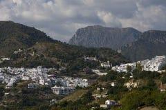 vue de l'Andalousie frigiliana Espagne Photographie stock