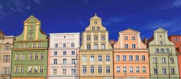 Vue de l'architecture historique rénovée image libre de droits