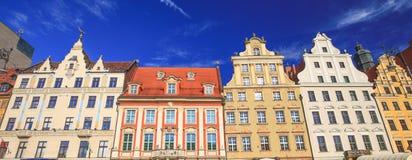 Vue de l'architecture historique rénovée photos stock