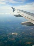 Vue de l'avion Photographie stock