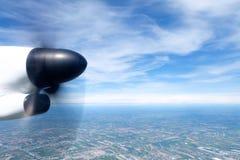 Vue de l'avion photo stock