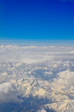 Vue de l'avion Photo libre de droits