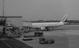 Vue de l'avion d'air en Hai Phong Images libres de droits