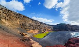 Vue de l'EL Golfa. Images stock