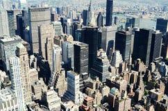 Vue de l'Empire State Building Image libre de droits