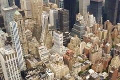 Vue de l'Empire State Building Images libres de droits